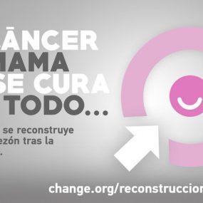 Petición en la plataforma Change para que la reconstrucción de areolas sea gratuita